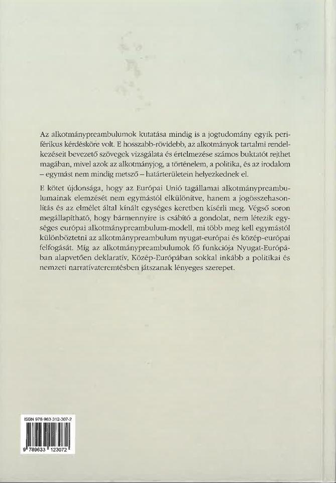 Az európai alkotmánypreambulum
